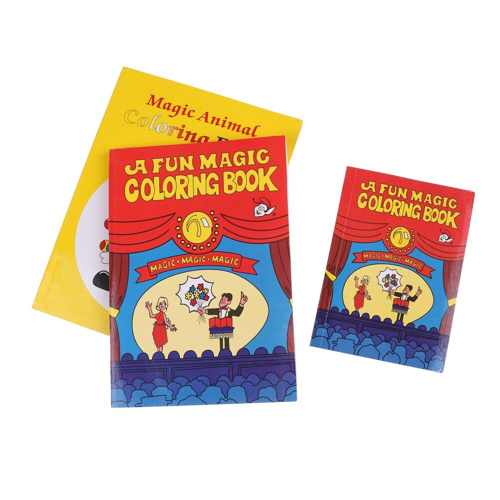 Magic Tricks 2 Sizes Funny Comedy Magic Coloring Book ellusionist ...
