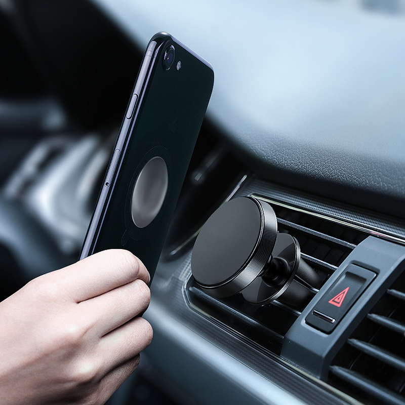 Universal Magnet Car Phone Holder Dashboard Phone Holder Stands Magnetic Air Vent Grip Bracket 360 Degree Holder Case For IPhone