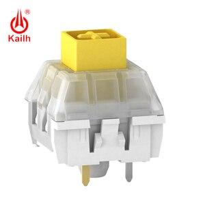 Image 4 - Kailh لوحة المفاتيح الميكانيكية صندوق ثقيل أصفر داكن/أزرق/برتقالي التبديل ، مفاتيح مقاوم للماء والغبار ، 80 مليون دورة الحياة