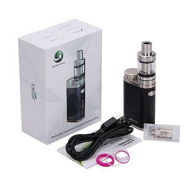 Pico 75 w cigarro eletrônico kit eleaf istick 75 w box mod melo 3 mini tanque Atomizador Evic Vaporizador vs Ijust S VTC mini Original