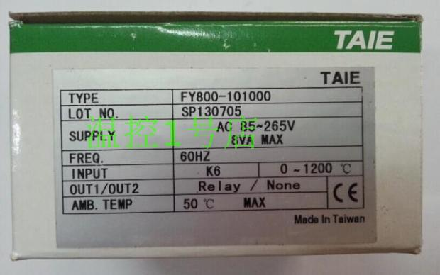 TAIE FY800 thermostat temperature control table FY800-101000 taie thermostat fy800 temperature control table fy800 201000