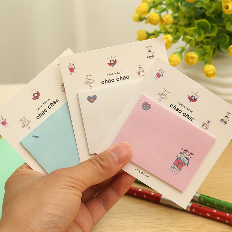 Funny Man Memo Pad Sticky Notes Memo Notepad School Office Supply Escolar Papelaria Gift Stationery