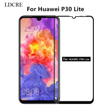 1PCS for HUAWEI P30 Lite Glass Full Glue Coverage Screen Protector Huawei Film