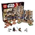 438 unids LEPIN 05009 Star Wars Batalla Takodana Ensamblar Bloques de Construcción de Ladrillos de Juguete Ladrillos Compatible Con Legoe 75139