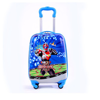 HEMAOZHU New Cartoon Children Rolling Luggage Wheeled Bag Kid Suitcase Boy Girl Carry Ons ABS Luggage Trolley Child Luggage