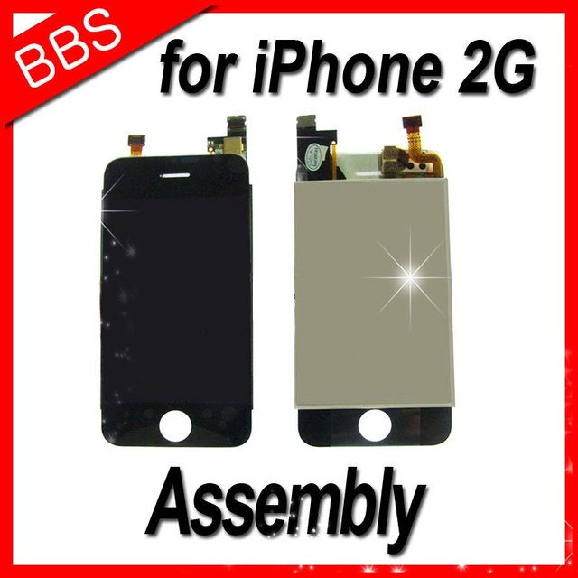 for iphone 2G  LCD  assembly Digitizer Glass Screen Assembly Repair Replacement for iPhone 1st Gen 2G 4GB 8GB 16GB