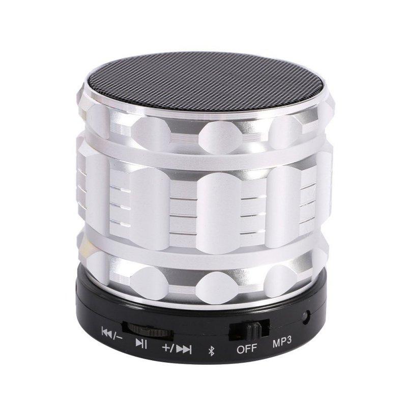 Mini Portable Bluetooth Speakers Metal Steel Wireless Smart Hands Free Speaker With FM Radio Support SD
