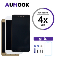 Pantalla de 5,0 pulgadas para XIAOMI Redmi 4X, montaje de digitalizador con pantalla táctil LCD + Marco de repuesto para pantalla Redmi 4X