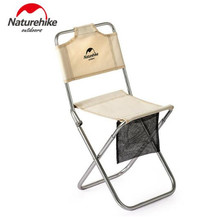 Naturehike Alluminum Alloy Chair Portable Ultralight Campstool Outdoor Camping Folding Stool Fishing Beach