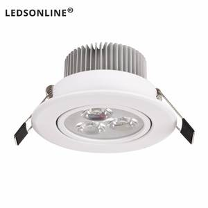 Light Led-Lamp Spot Led Dimmable Recessed Pure-White 3W Warm 1W 5W 4W AC AC110V220V 1pcs