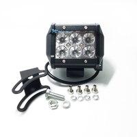 2PCS 4 INCH 18W CREE LED WORK LIGHT FOR OFF ROAD 4X4 4WD ATV UTV SUV