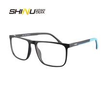SHINU Brand Anti Blue Light Photochromic Sunglasses