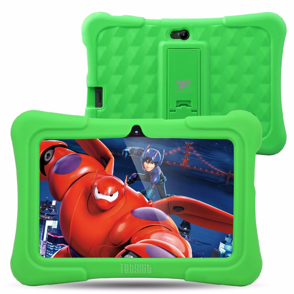 Dragon Touch Y88X Plus 7 inch Green Kids Tablet Quad Core CPU Android 5 1 Lollipop