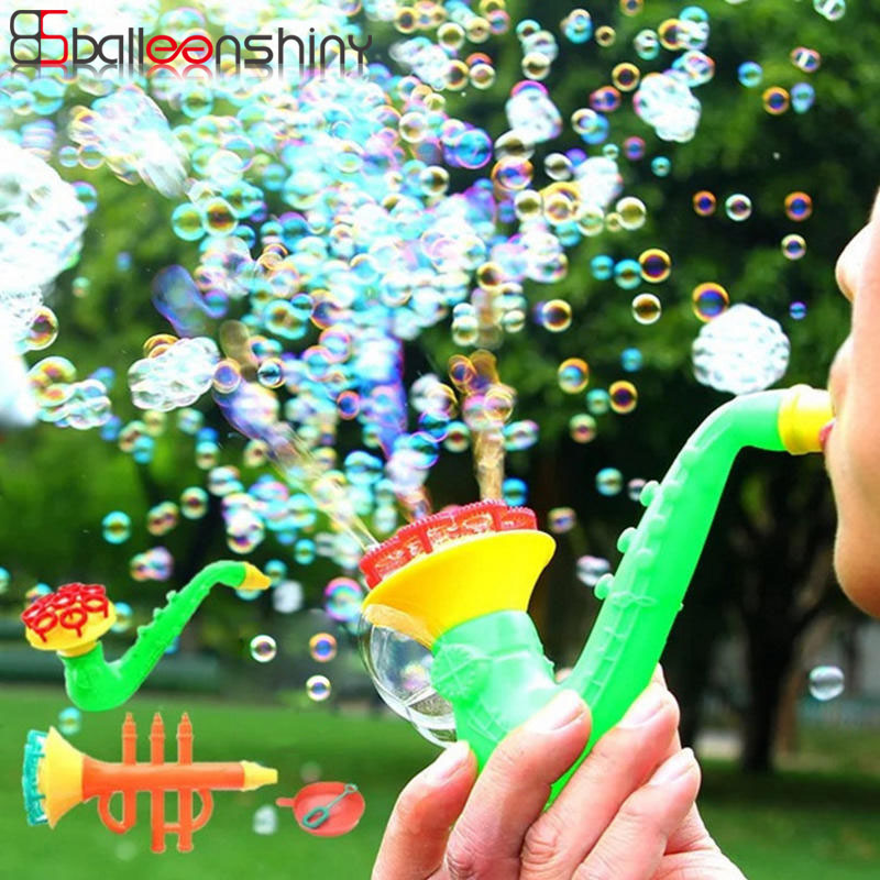 Balleenshiny 1pc Multi-headed Bubble Gun Baby Kids Water Toys Soap Water Bubles Kids Machine Children's Water Toy Random Color