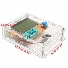 LCR-T4 Mega328 Транзистор тестер Диод Триод Емкость СОЭ метр с оболочкой