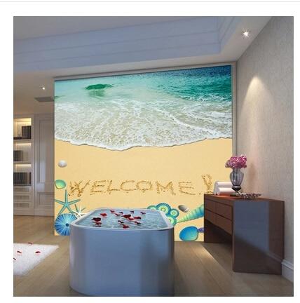 Grand HD 3D stéréo Mural sous-marin monde photo papier peint poissons marins crustacés enfants chambre salon TV toile de fond papier peint