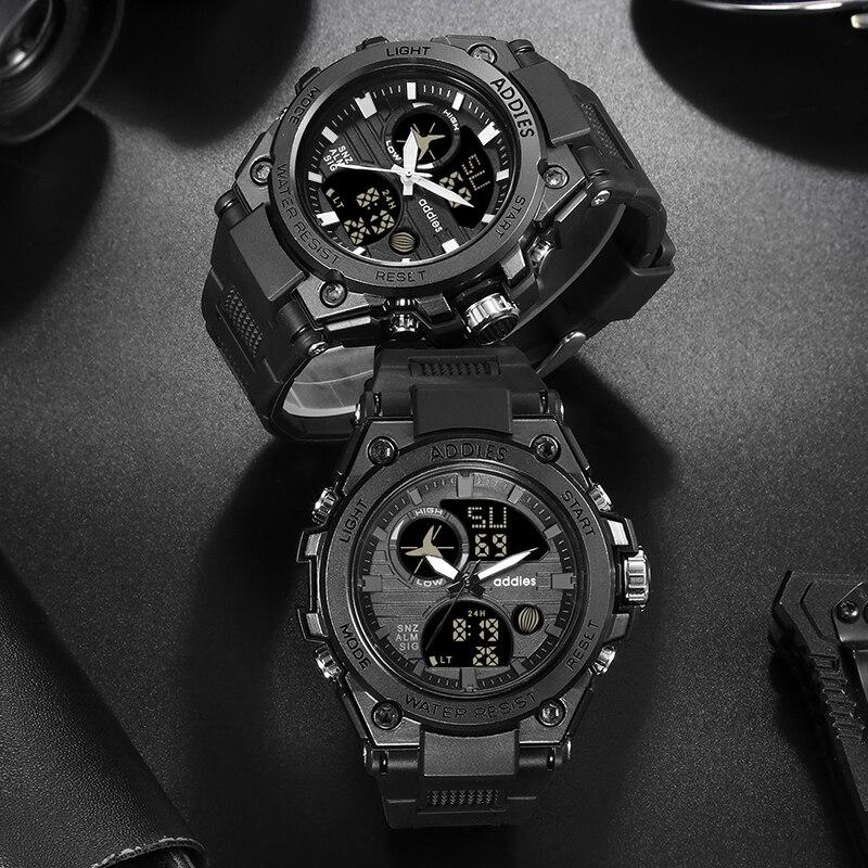 Image 5 - Luxury Swimming Watch Digital Men Sport Watches 30M LED Sport Watch Men Waterproof Mens Sport Watches Mans  Fashion WristwatchDigital Watches   -