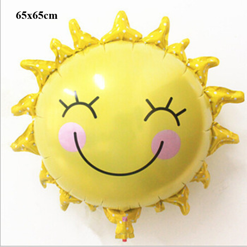 classic toys air balloons party decoration supplies helium baby foil kids children birthday supplies sun flower balloons