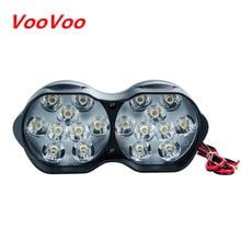 VOOVOO светодиодный мотоциклетный головной светильник 30 Вт 3000лм мото светильник в сборе Точечный светильник s мотоциклетный светильник ing 6500 к белый 9-85 в водонепроницаемый