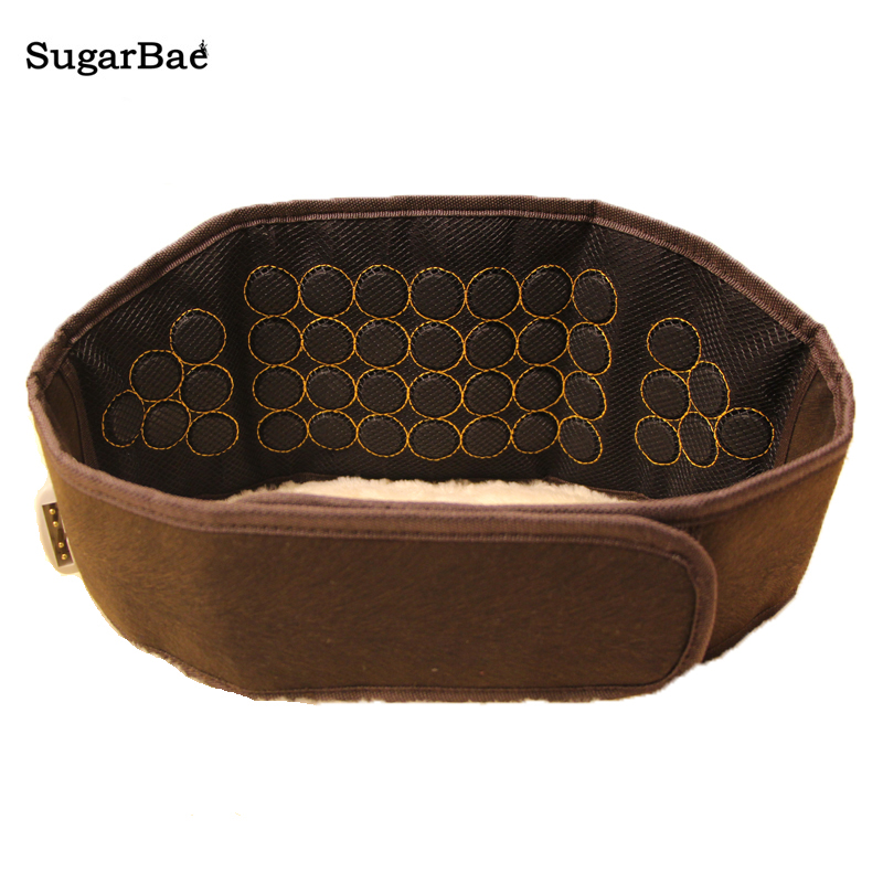 2017 New Massage Belt Support Therapy Reduce Inflammation Jade Far Infrared Heating Belt Bian Stone For Sale