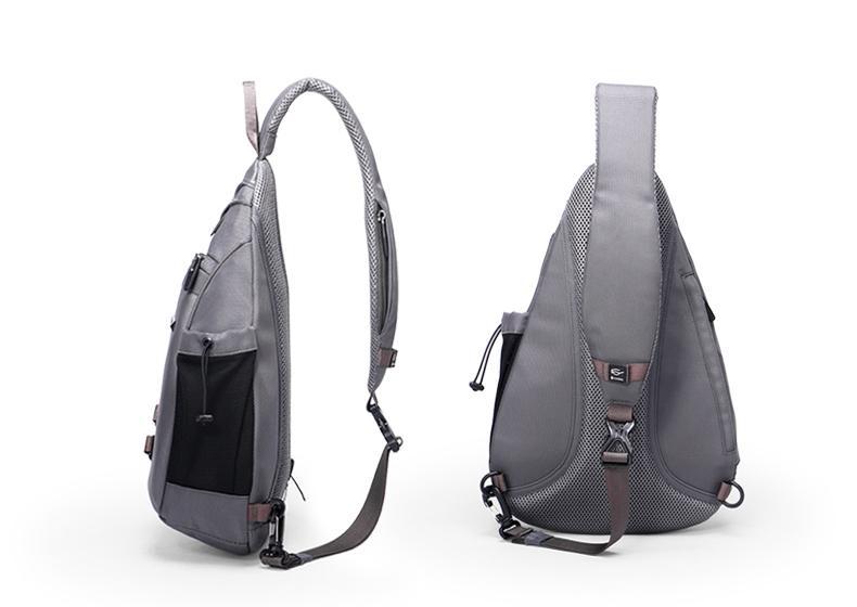 Unisex Waterproof Large Capacity Chest Bag