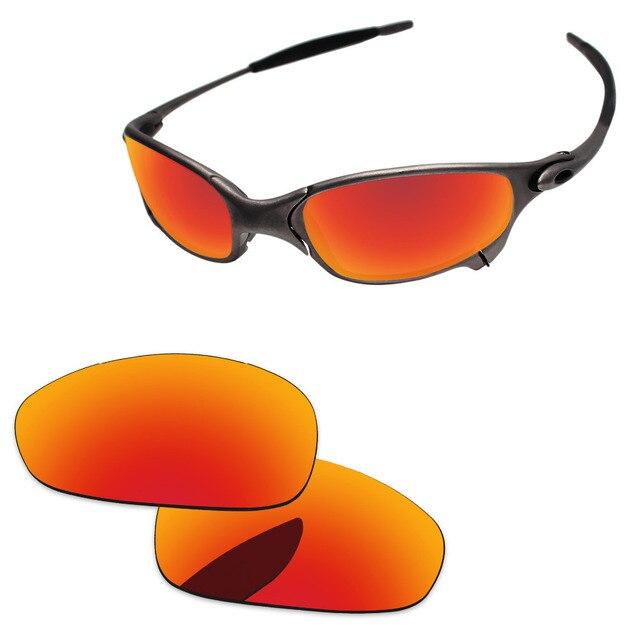 838cb4878 Policarbonato-Fire Red Lentes de Reposição Para O Juliet Sunglasses Quadro  100% UVA &