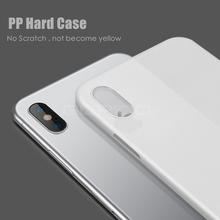 NEW Case for iPhone X Cases Ultra Thin PP Slim Transparent Back Cover for Apple iphone X 10 Soft shell