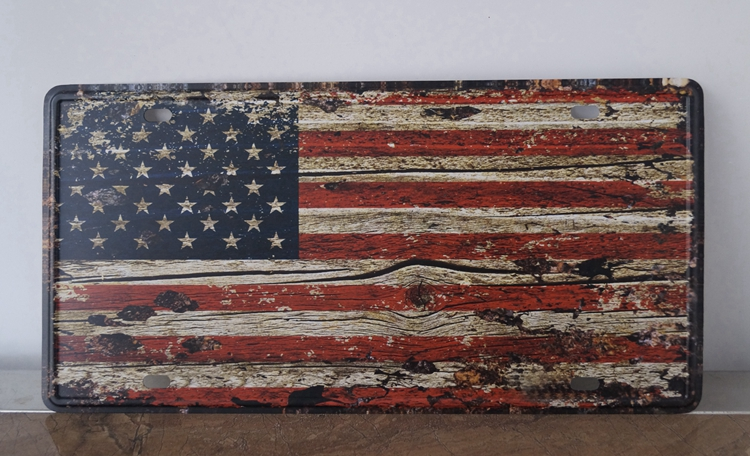 Vintage American Flag Wall Art compare prices on metal wall art american flag- online shopping