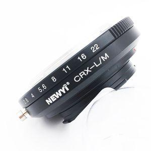 Image 2 - NEWYI Contarex objectif CRX pour Leica M LM M4 M5 M6 M7 M8 M9 MP Techart LM EA7 adaptateur caméra lentille convertisseur anneau adaptateur