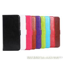 For iPhone 6 4.7″ New Luxury Genuine Leather Fine Sheep Line Printing Wallet Card Case Flip Cover Hard Holster
