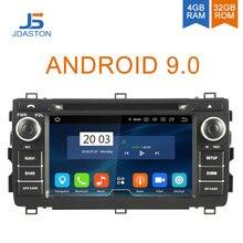 JDASTON 2 DIN Android 9,0 автомобильный dvd-плеер для Toyota Auris 2013 2014 2015 Восьмиядерный 4G + 32G автомобильный Радио Мультимедиа gps стерео аудио