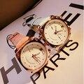 High Quality Women Wristwatches Lady Luxury Genuine Leather Watches Large Dial Dress Watch Calendar Watch Reloj Girl's Clock
