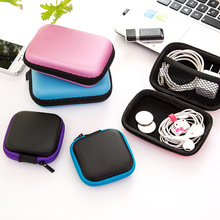 Earphone Wire Organizer Box Data Line Cables Storage Case Container Headphone Protective Headphones