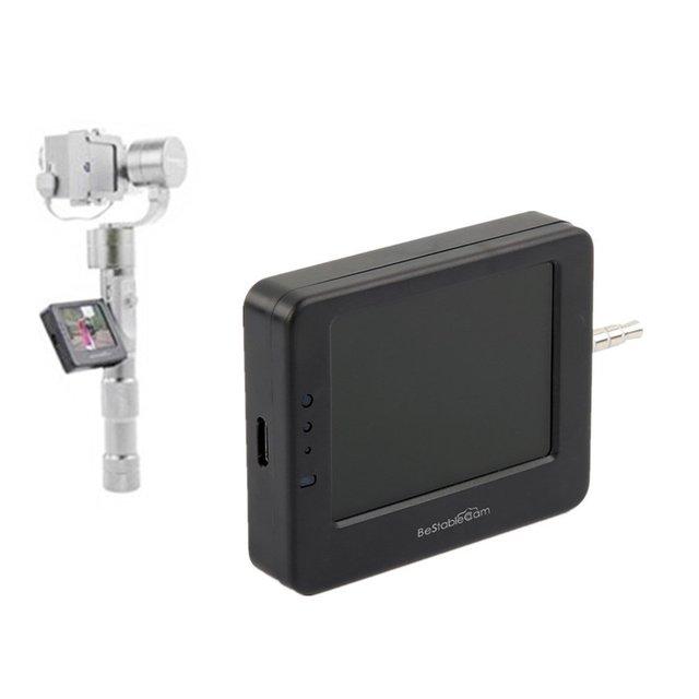 Bestablecam besview tela do visualizador de exibição do monitor lcd monitor de entrada e saída av para gopro 4 f19343 brushless cardan handheld