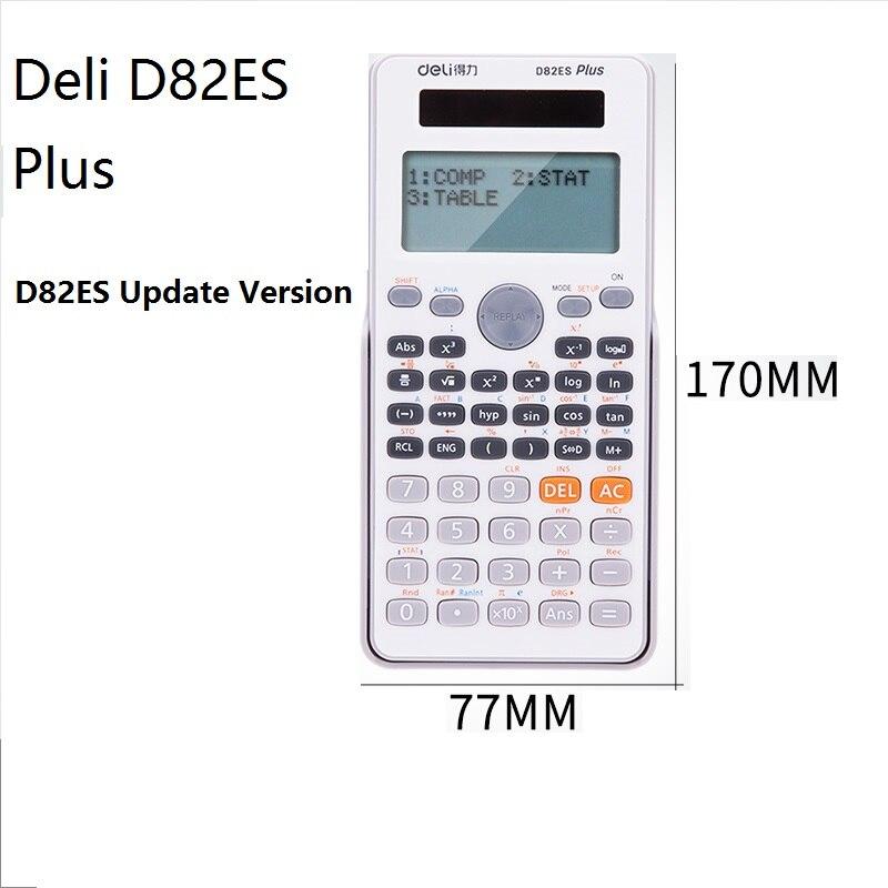 2018 рабочего Dual Мощность 252 видов Функция научный калькулятор solar + Батарея Мощность 12 цифровой 2-линии ЖК-дисплей Дисплей