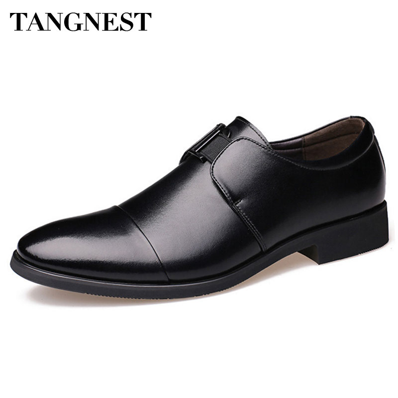 ᗚTangnest 2017 New Spring Men Shoes Man Patent Leather Men Dress ...