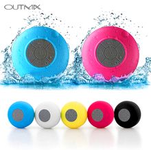 купить Mini Wireless Bluetooth Speaker Hands Free Waterproof Car Bathroom Office Beach Stereo Subwoofer Music Loudspeaker With Suction по цене 502.91 рублей