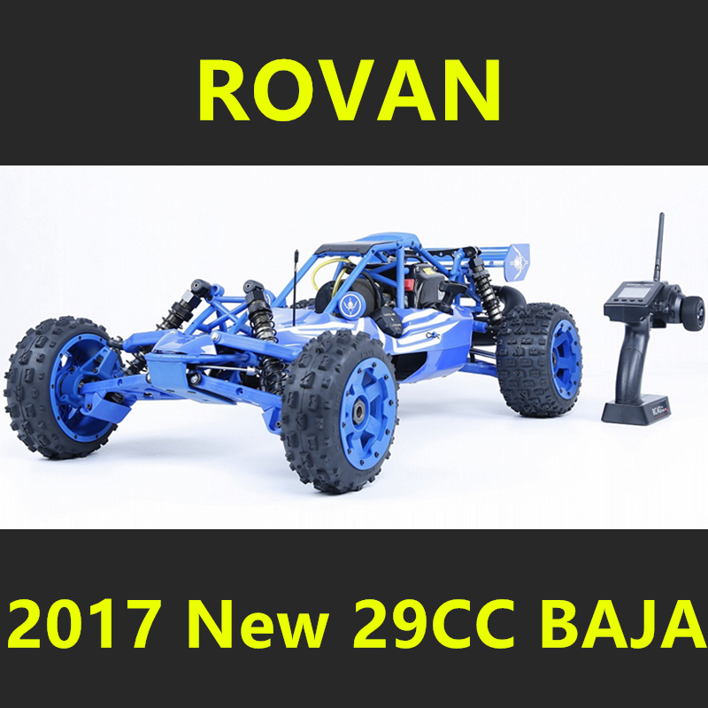 2017 New Style 1/5 Rovan BAJA 5B Scale Gasoline RC Car High-strength Nylon Frame 29CC Engine Warbro668 Symmetrical Steering 2017 new rovan 1 5 scale gasoline rc car baja 5b high strength nylon frame 29cc engine warbro668 symmetrical steering