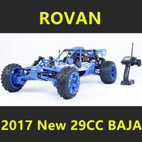 2017 New Style 1/5 Rovan BAJA 5B Scale Gasoline RC Car High strength Nylon Frame 29CC Engine Warbro668 Symmetrical Steering