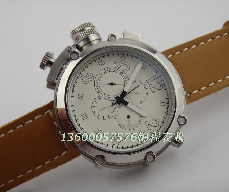 50 mm big watch PARNIS Automatic Self Wind movement leather strap High quality MEN watch wholesale