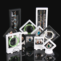 High Quality Bracelet Box Ring Display Case Necklace Holder Jewelry Display Rack Earring Showcase Pendant Showing Props