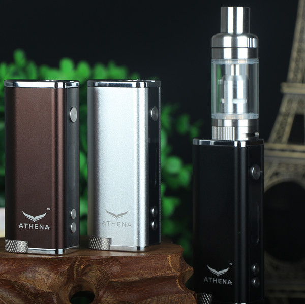 ФОТО 100% Original Athena 35W Box MOD electronic cigarette mod fashionable mini size Simple Pack