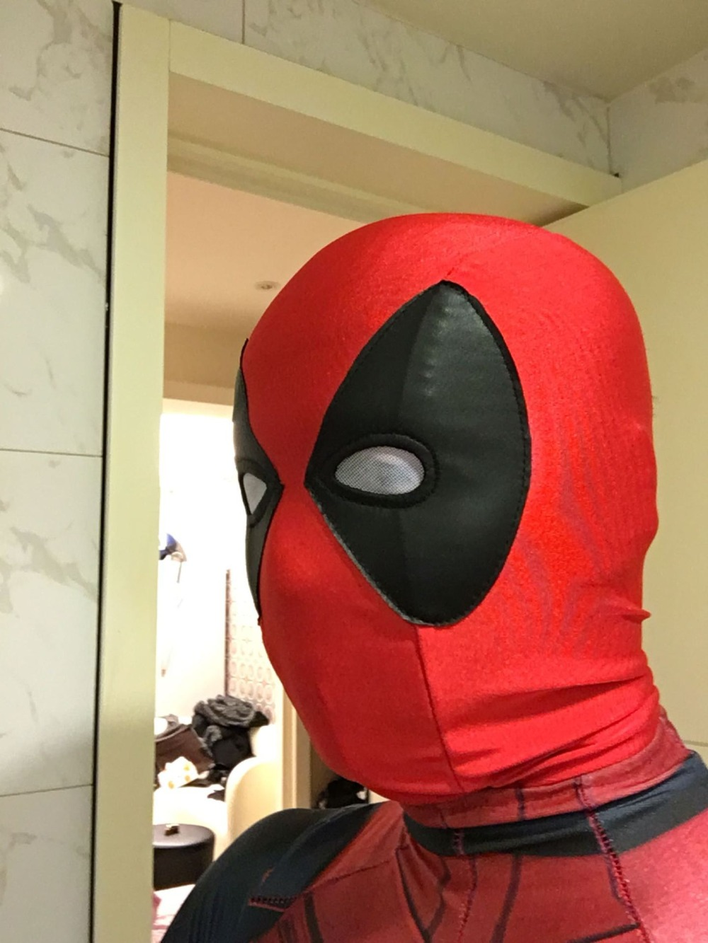 Aliexpress.com : Buy Lycra Super Stretch Deadpool Mask Halloween ...