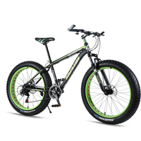 Mountain bike Aluminum Bicycles 26 inches 7/21/24 speed bike road 26x4.0 Shock Absorbers Bicycle high quality