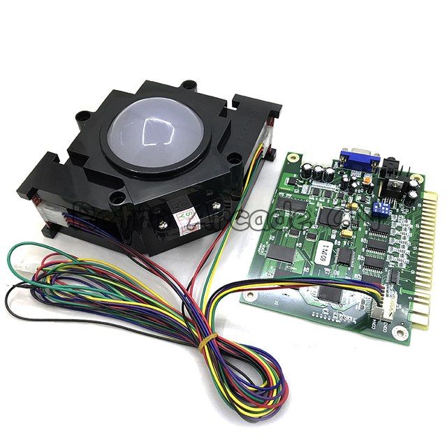 Arcade Game TrackBall For Classical 60 In 1 PCB Board Game Machine Cabinet  Accessories