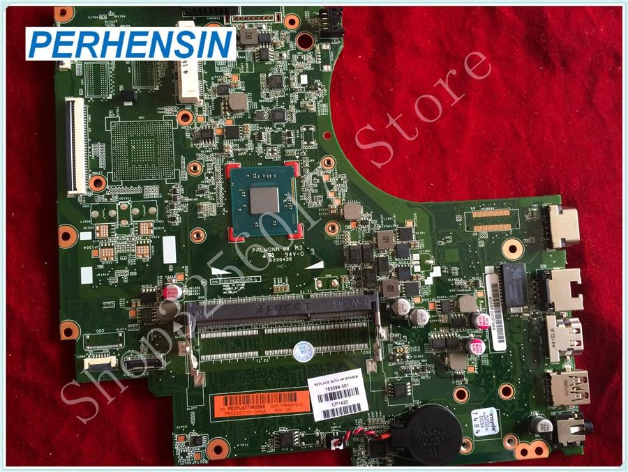 For HP For 15-D 250 G2 15-D035DX Laptop Motherboard 753099-001 753099-501 SR1SE 100% tested good 747139 501 for 15 d 250 g2 laptop motherboard 747139 001 n2810 mainboard
