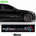 2pcs kk M peroformance Motor sport bemblem car body sticker Car door sticker For bmw F10 F20 F30 1 3 5 GT series X1 X3 X4 X5 X6