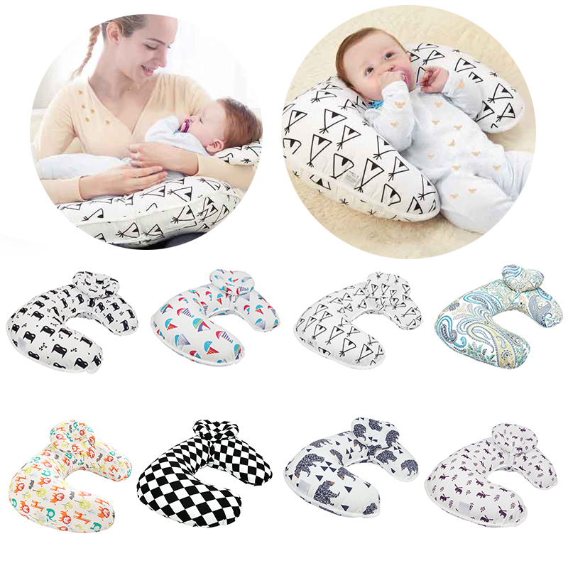 New Baby Nursing Pillows Breastfeeding Pillow Maternity Baby Breastfeeding Pillow U-Shaped Cotton Feeding Waist Cushion Pillow