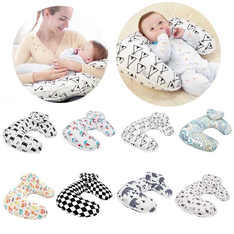 New Baby Nursing Pillows Breastfeeding Pillow Maternity Baby Breastfeeding Pillow U-Shaped Cotton Feeding Waist Cushion Pillow