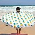 Beach Yoga Mat Mandala Tapestry Beach Towel Picnic Blanket Bohemian Pineapple Wink Gal Hippie Towels
